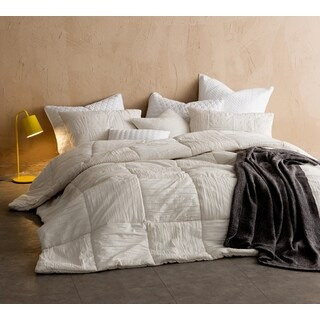 BYB Single Tone Jet Stream Blended Textured Quilt (Shams Not Included)