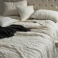 BYB Jet Stream Cotton Pure Textured Quilt Set
