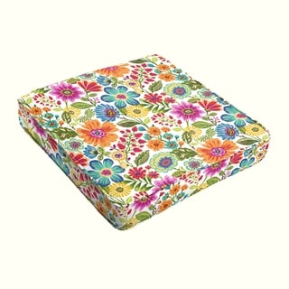 Galliford Multi Floral Indoor/ Outdoor Corded Cushion