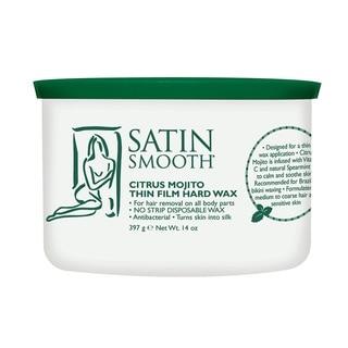 Satin Smooth 14-ounce Citrus Mojito Thin Film Hard Wax