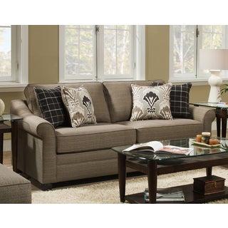Simmons Upholstery Seguin Driftwood Sleeper Sofa