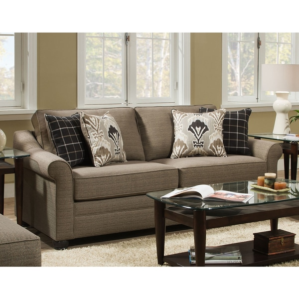 Simmons Sleeper Sofa: Shop Simmons Upholstery Seguin Driftwood Sleeper Sofa