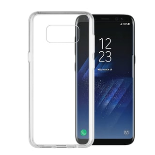 Insten Transparent Hard PC Back/ TPU Bumper Clip-on Case for Samsung Galaxy S8