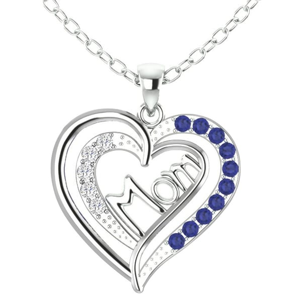 Shop Orchid Jewelry Mother S Day Sterling Silver Sapphire