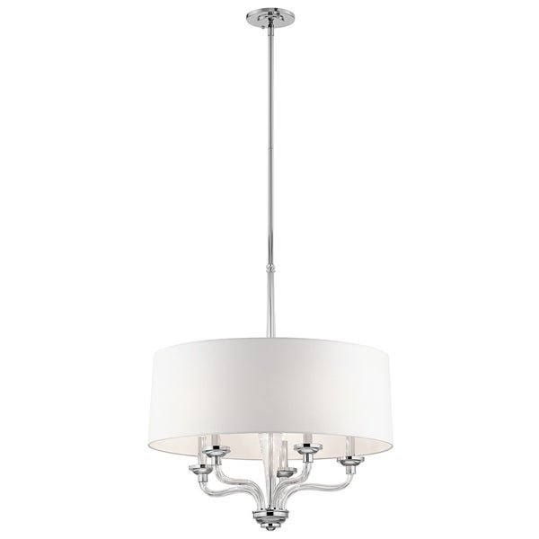 Kichler Lighting Loula Collection 5-light Chrome Chandelier