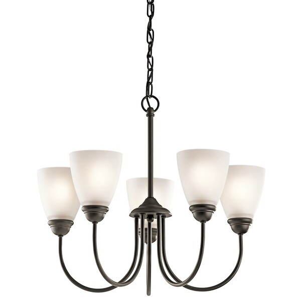 Kichler Lighting Jolie Collection 5-light Olde Bronze Chandelier - Olde Bronze