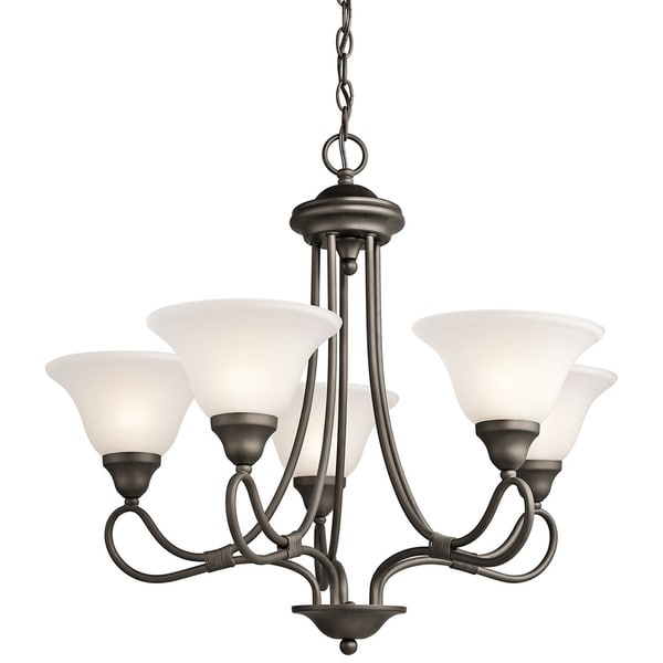 Kichler Lighting Stafford Collection 5-light Olde Bronze Chandelier