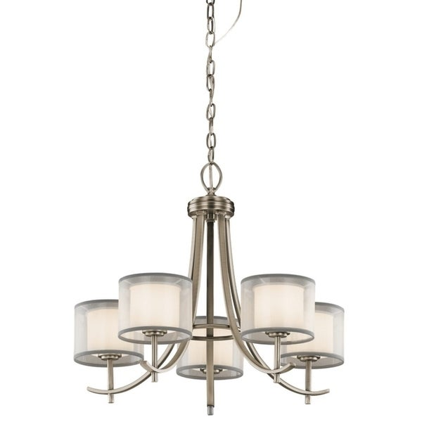 Kichler Lighting Tallie Collection 5-light Antique Pewter Chandelier - antique pewter
