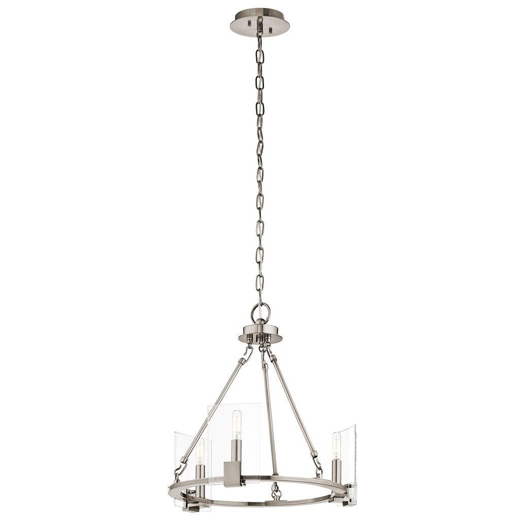 Kichler Lighting Signata Collection 3-light Classic Pewte...