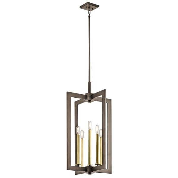 Kichler Lighting Cullen Collection 5-light Olde Bronze Foyer Pendant