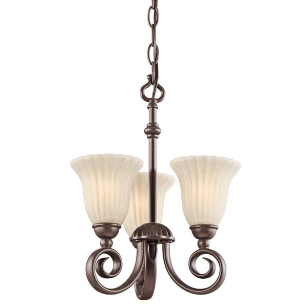 Kichler Lighting Reviews: Shop Kichler Lighting Willowmore Collection 3-light