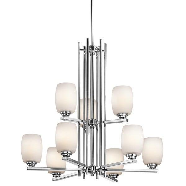 Kichler Lighting Eileen Collection 9-light Chrome Chandelier