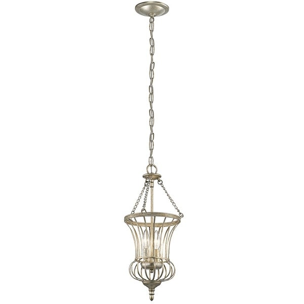 Kichler Lighting Calla Collection 2-light Sterling Gold Foyer Pendant - sterling gold