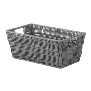Whitmor Grey Fabric Storage Shelf Tote