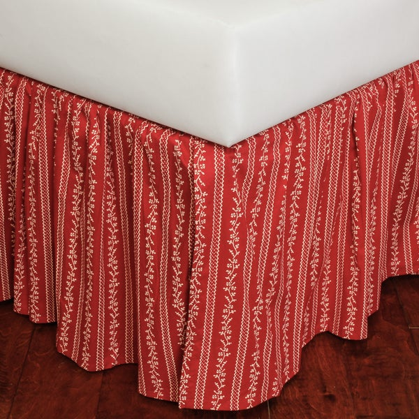Marona Cotton 18-inch Drop Bed Skirt