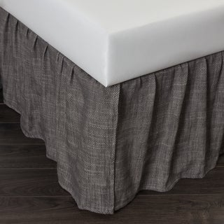 Lucas Charcoal Bed Skirt