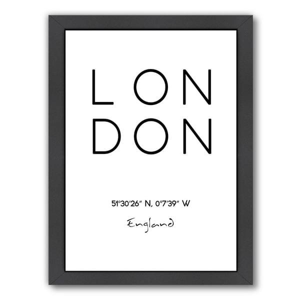 Pop Monica 'London' Framed Print