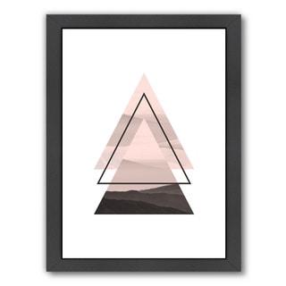 Americanflat Pop Monica Design 'Geometric Art 52' Framed Wall Art