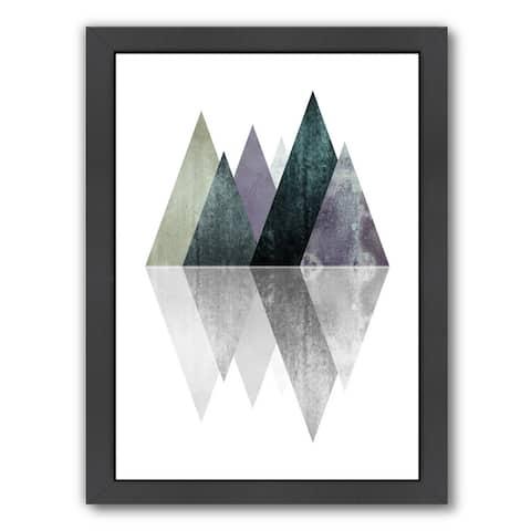 Geometric Art 9 By Pop Monica - Framed Print Wall Art