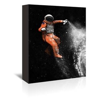Florent Bodart Design 'Astronaut' Wrapped Canvas Wall Art