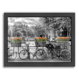 Melanie Viola Design 'Typical Amsterdam - Panoramic View' Giclee Print