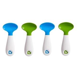 Munchkin Blue/Green Scooper Spoons (4 Pack)