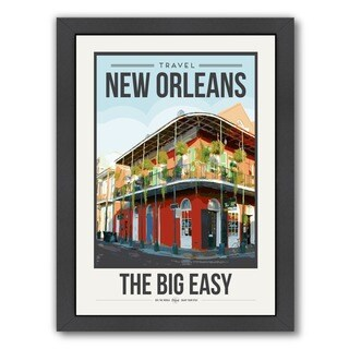 Brooke Witt 'TravelPoster New Orleans' Framed Art Print