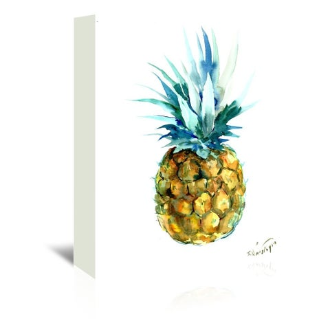 Americanflat 'Pineapple' Gallery-wrapped Canvas