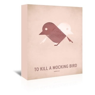 Americanflat 'To Kill a Mocking Bird' Gallery Wrapped Canvas