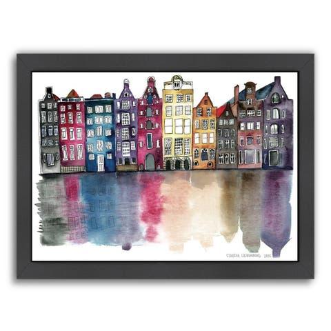 Claudia Libenberg 'Amsterdam' Framed Print