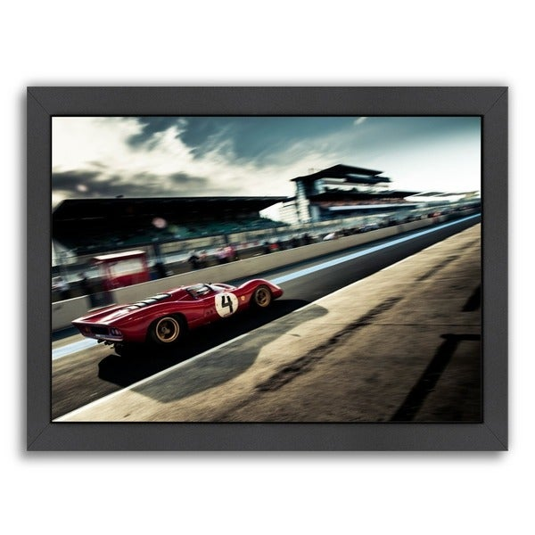 Americanflat 'Red 4' Wall Art