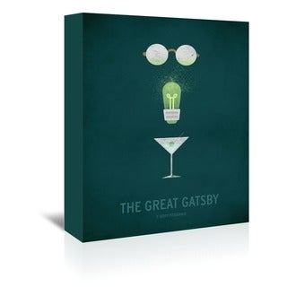 Americanflat 'The Great Gatsby' Wall Art - Green