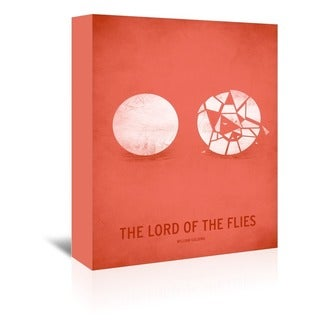 Americanflat 'Lord of the Flies Minimal' Canvas Gallery-wrapped Wall Art