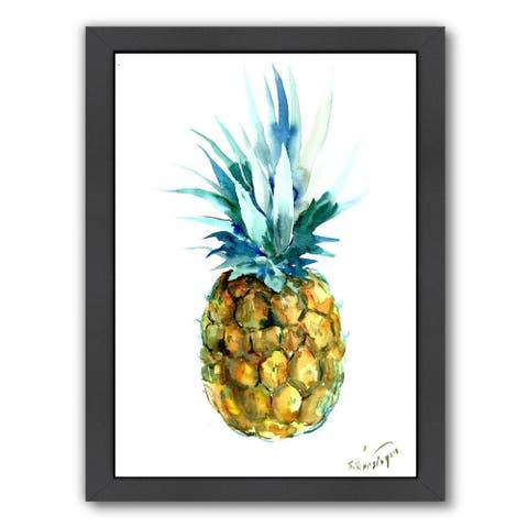 Pineappleby Suren Nersisyan - Framed Print Wall Art