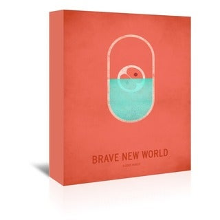 Americanflat 'Brave New World' Gallery Wrapped Canvas