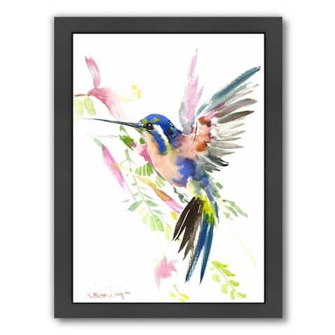 Americanflat 'Hummingbird Flying' Wall Art