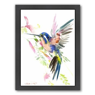 Americanflat 'Hummingbird Flying' Wall Art