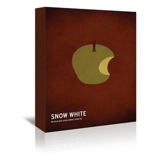 American Flat 'Snow White' Wall Art