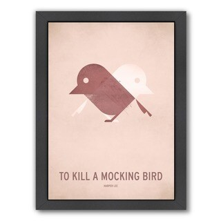 Americanflat 'To Kill a Mocking Bird' Wood Framed Wall Art