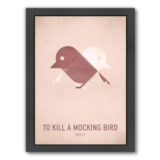 Americanflat 'To Kill a Mocking Bird' Wood Framed Wall Art (3 options available)