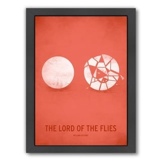 Americanflat Christian Jackson Design 'Lord of the Flies' Framed Wall Art