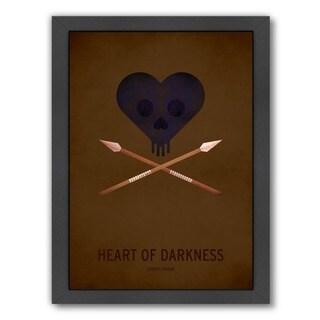 Americanflat 'Heart of Darkness' Framed Wall Art