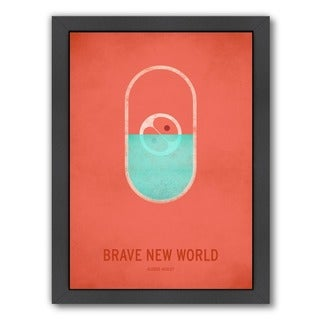 Christian Jackson 'Brave New World' Framed Art Print (3 options available)