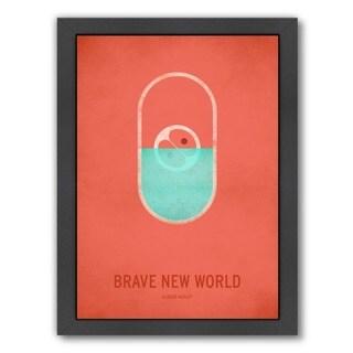Christian Jackson 'Brave New World' Framed Art Print