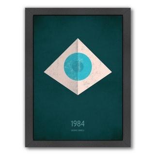 Christian Jackson Design '1984 George Orwell' Framed Art Print