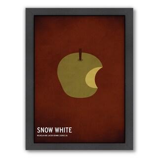 Americanflat 'Snow White' Framed Wall Art