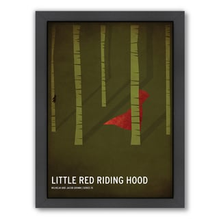 Christian Jackson 'Red Riding Hood' Framed Print