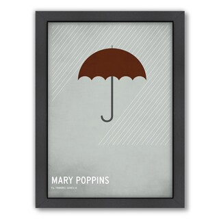 Christian Jackson 'Mary Poppins' Framed Print (3 options available)