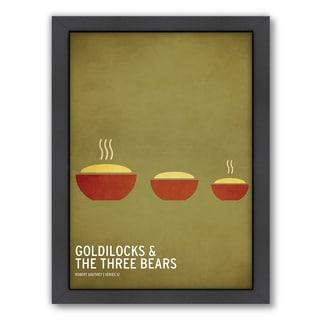 Americanflat 'Goldilocks' Framed Wall Art