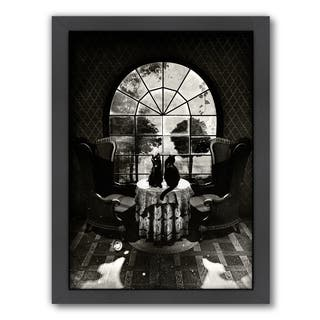 Americanflat Ali Gulec Design 'Room Skull' Framed Wall Art